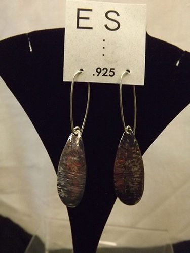 .925 silver earrings