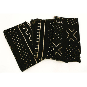 Mud Cloth Bambara - Black/White