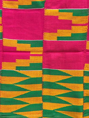 Genuine Kente cloth 63 x 43