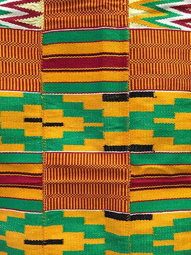Genuine Kente cloth 63 x 40