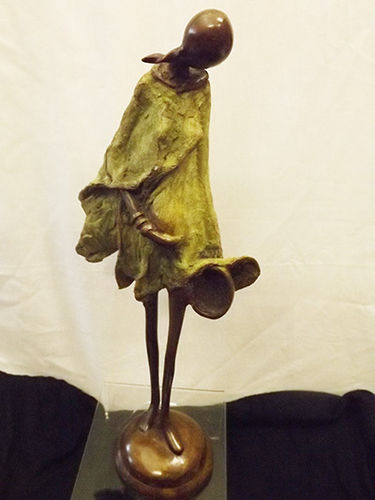 "Bronze ""expecting mother"" figurine"