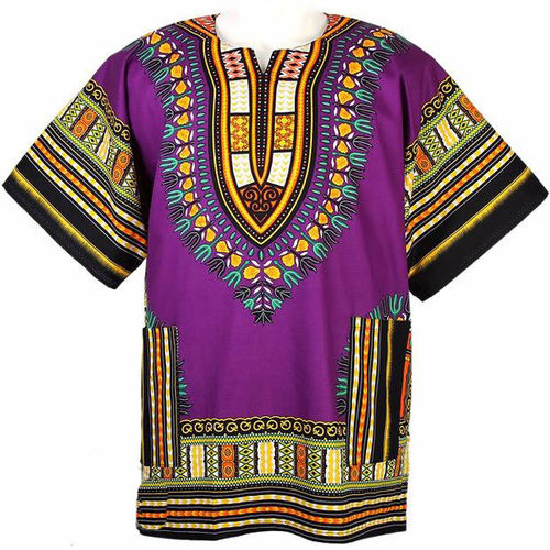 Traditional Dashiki Purple