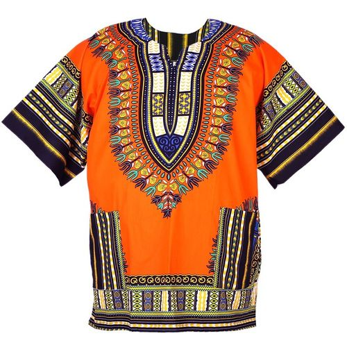 Traditional Dashiki Orange