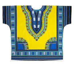 Traditional Dashiki Yellow