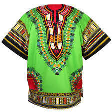 Traditional Dashiki Lime