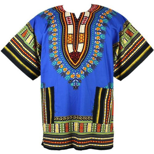 Traditional Dashiki Blue