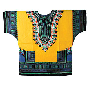 Traditional Dashiki Gold